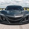 NSX GT3レーサーはフルカーボンボディ