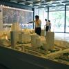 水都大阪1/300模型は大阪市役所に。