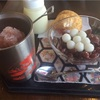 富士家泊本店でミルクぜんざいを食べよう!タコスも美味しい!