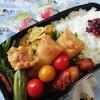 NO.55 春巻き弁当と夕飯