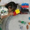レゴ デュプロ キミが車掌さん! おしてGO機関車デラックス 10874 で遊んでみたよ。