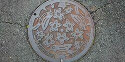 兵庫県加東市のマンホール
