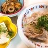 てつkitchen「豚バラもやし蒸し定食」andカフェモーニング(*´▽`*)