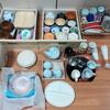 【ニトリ】お皿を全出し!ニトリのボール2種&木製汁椀を購入して手持ちの食器を整理しました