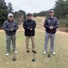 今日は、昔のボスと久しぶりのゴルフ!