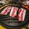 中国 広州 韩苑炭火烤肉 サムギョプサル (YUMAP-0171)