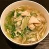 こんにゃく麺の中華風スープでGW太りを解消