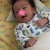 生後2ヶ月と1日 笑顔記念日、お注射