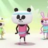 子供に大ウケ!「パパンがパンダ」の「パパンがラジオ体操!」が面白すぎてちーん!!