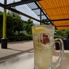 営業再開した三越の屋上「日本橋庭園」へ休憩しに行ってみた。ノイの食堂は営業中。(日本橋室町)