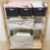 【新生児】我が家のベビーグッズ収納。よく使うものを、すぐ取り出せるところへ。