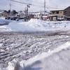 大雪の後の、もんぜん市