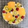 【料理レシピ】フルーツレアチーズケーキ