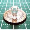 【ミニチュアフード】パフェグラスの作り方