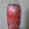 インパクトのあるラベルの「コカ・コーラ ピーチ」を飲んでみた