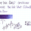 #0933 DIAMINE the Ink Vent Calender Purple Bow