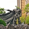 台中 市民広場、勤美術館周辺 ~「草悟道(ツァオウーダオ)」の早朝街角散策での光景