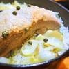 豚バラ肉と百合根の炊き込みご飯、グリーンペッパー風味