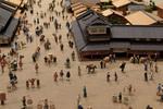 江戸東京博物館で江戸の歴史を楽しむ! 近代の東京も再現されています。