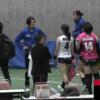試合を終えた花井@姫路を待ち受ける久光の2選手
