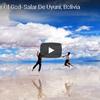 天空を映し出す鏡 ボリビアのウユニ塩湖