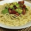 火曜日 アボカドとトマトのサラダパスタ