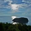 山の上の360℃スリーシックスティーバー(Three Sixty Bar)からマ島を眺め~パンガン島の名物椰子の木からのサンセットを!!Vol.4