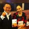 大前研一先生のお姉さん、大前伶子さんとお会いしました。