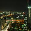 神戸夜景の定番その3 神戸市役所周辺
