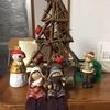 クリスマスの飾りつけをした