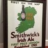 アイルランドの地図のポスター