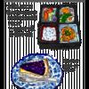 町の小さな松花堂弁当とがんばるドトール