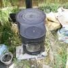薪ストーブで6回目のごはん炊きと畑作業