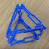空間図形、正三角柱の展開図