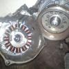 プレスカブ5号機 FIエンジンのフライホイール&ジェネレーター