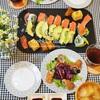 おうち夜ご飯~お寿司&海苔巻き(2日分の記録)/My Homemade Dinner/อาหารที่ทำเอง