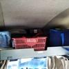 我がライトキャブコンのバンクベッドは屋根裏収納庫・・・