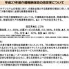 平成27年度介護報酬改定のポイント(メモ)