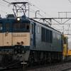 10/23  EF64 1032+キヤE195系ST-12編成 配給輸送(?)
