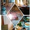 古民家カフェでランチ