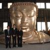 【仏像】あの鎌倉大仏を抜く12mの座仏建設中 東京・日の出