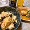 豆腐のニンニク醤油炒め