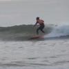 2020 サーフィン 22 大きい板+伏せるパドルで楽しく波乗り
