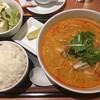 トムヤムクンのフォー(ごまドレ豆腐サラダつき)に、ごはん大盛りを追加する。 (@ デニーズ 北池袋店 - @dennys_pr in 豊島区, 東京都)