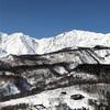 栂池高原 2月21日レポート 11時で下部はシャバシャバ、雪も薄くて3連休大丈夫?