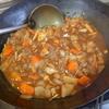 幸運な病のレシピ( 2002 )夜:新タマネギを食べる中華鍋カレー、当然血糖値は上がらない(満腹になる)。