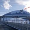 札幌ドーム展望台はこんな感じ。