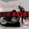 SRV250の思ひ出ボロボロ②