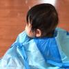 100均の散髪用ケープは赤ちゃんにも使える?自宅ではじめてのヘアカット♪