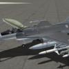 【Aerosoft】F-16C用 ACE COMBAT5 ウォードッグ隊塗装セット